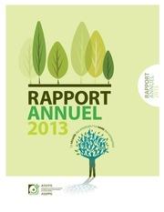 rap annuel 2013 brochure