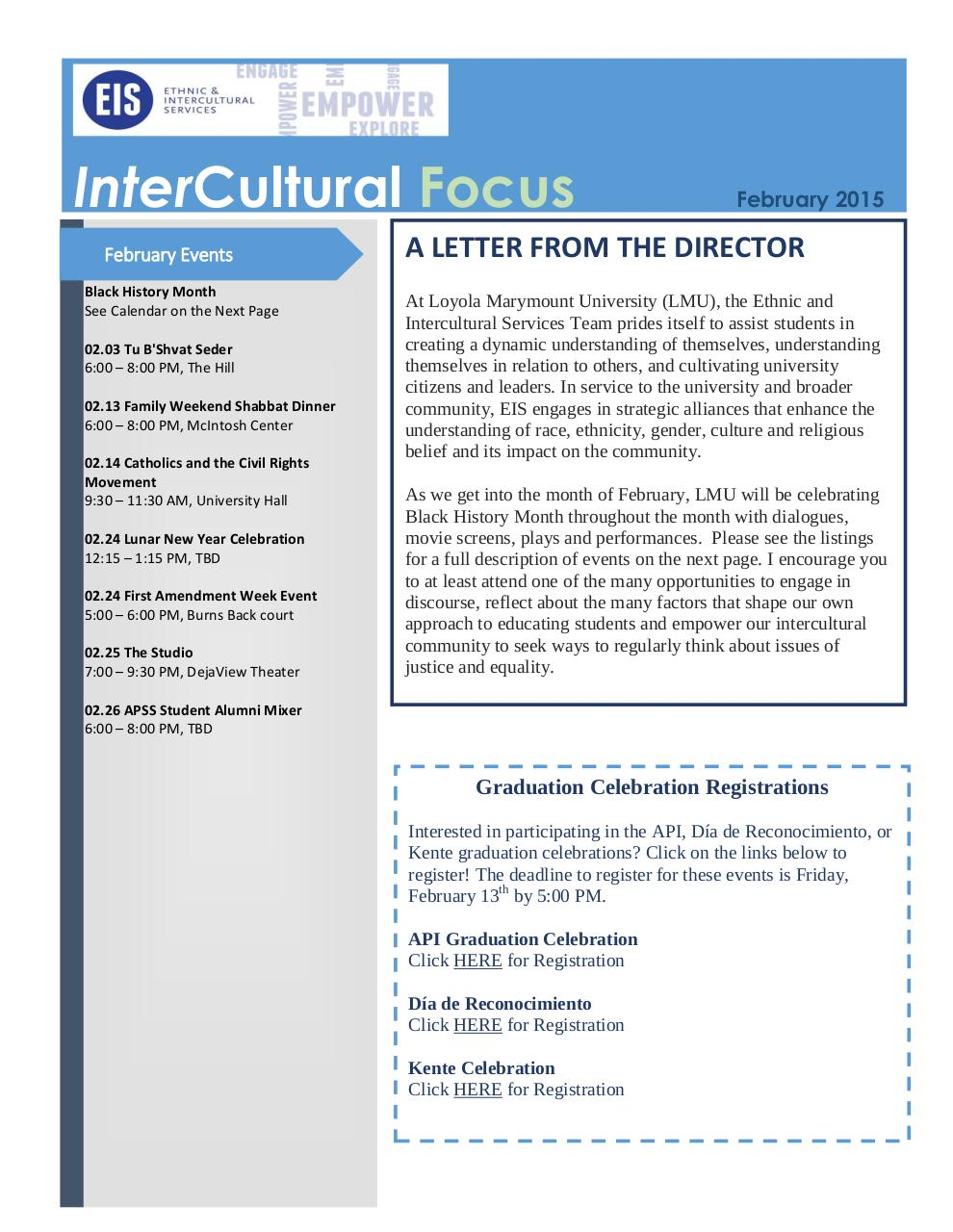 EIS InterCultural Focus February 03 2015.pdf - page 1/5
