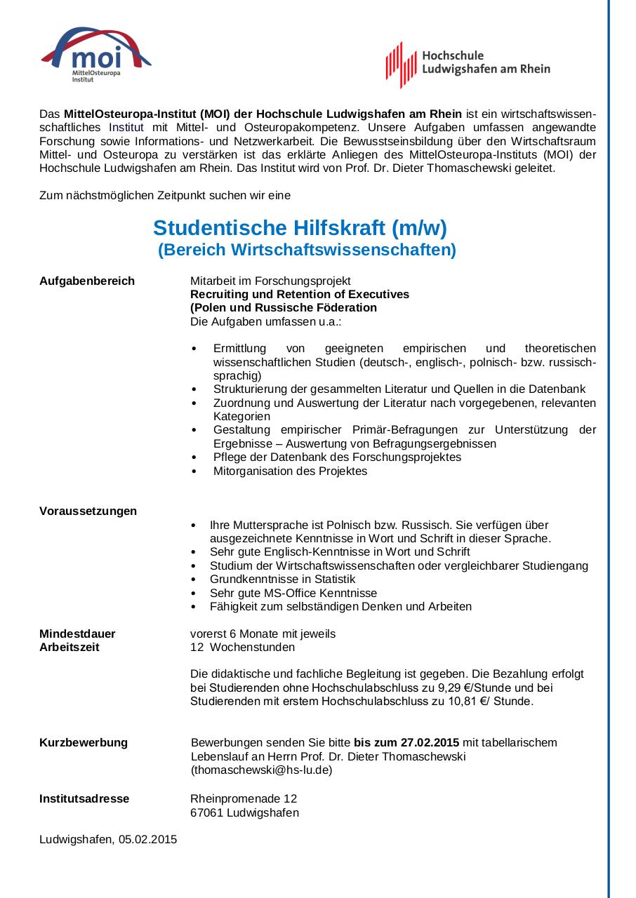 Für Praktikanten - Angebote - MOIHiwi_Projekt_Recruiting_02_2015.pdf ...