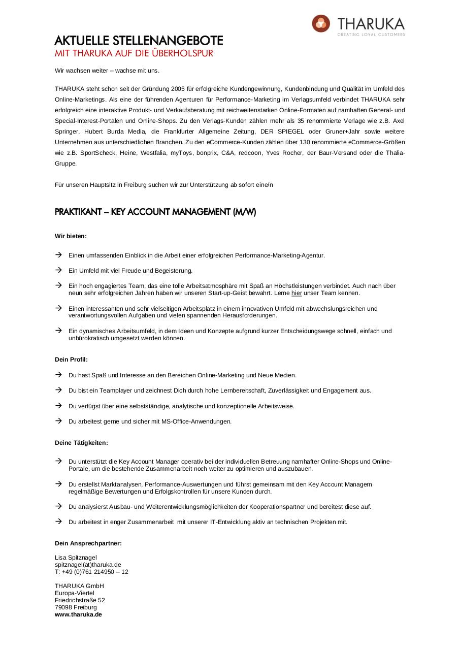 Document preview Praktikant Key Account Management_01.2015.pdf - page 1/1