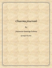 charms journal