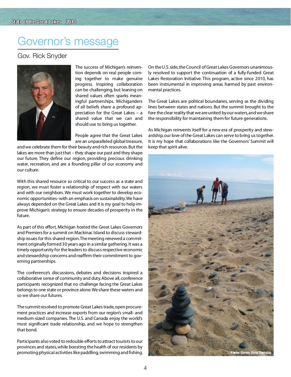 State of the Great Lakes 2013.pdf - page 4/24
