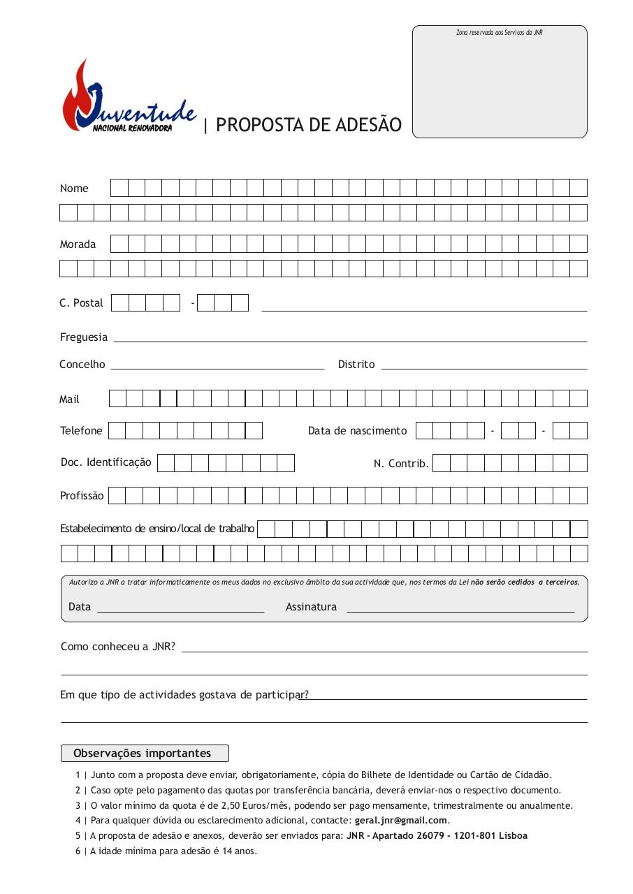 Document preview Ficha de inscrição JNR.pdf - page 1/1