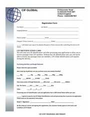 cif application form 1