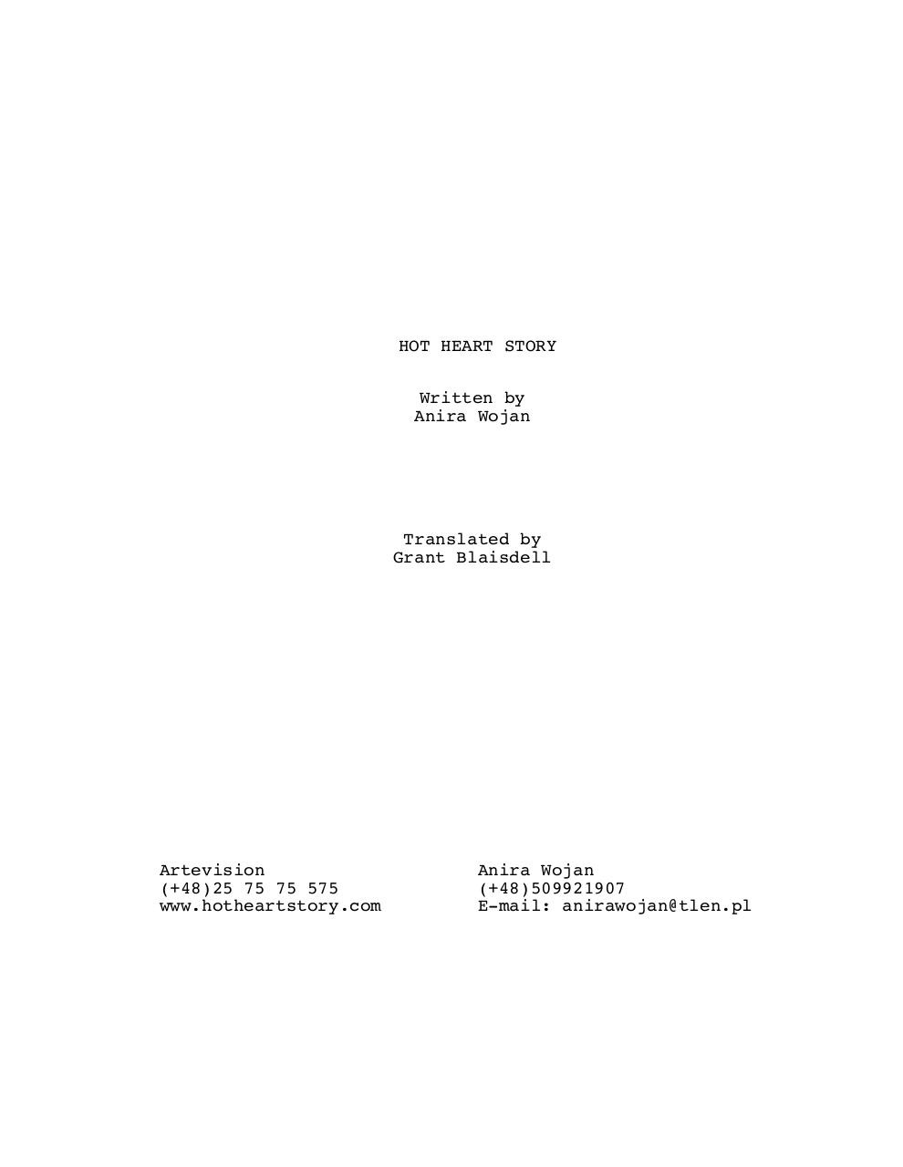 HOT HEART STORY SCREENPLAY.pdf - page 1/85