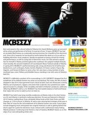 mcbeezy interactive epk 2k15 mobile