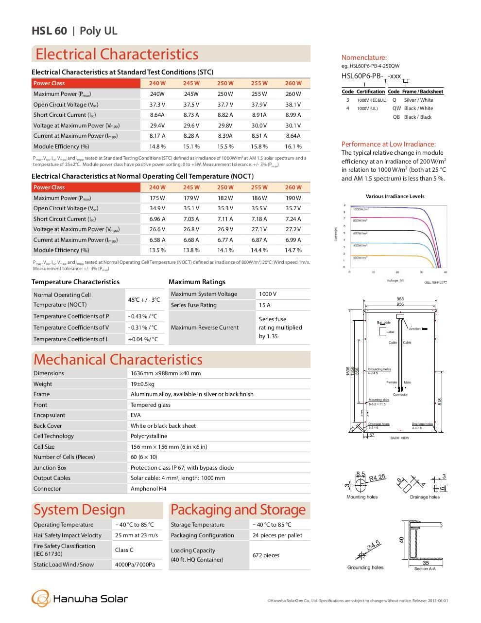 Document preview hanwha255watt.pdf - page 2/2