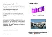 anmeldung italien 2015