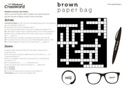 PDF Document crossword 10 pdf