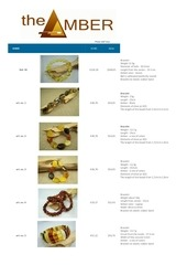 pricelist the amber