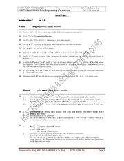 model paper pure 1 2015 hmt hellarawa b sc eng
