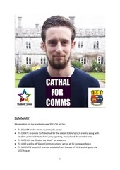 cathal walsh comms manifesto 2015 16