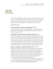 resume 12 19 14