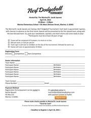 dodgeball registration form final