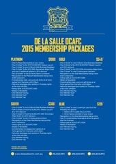 dlsocafc 2015 membership packages