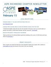 2015 newsletter february