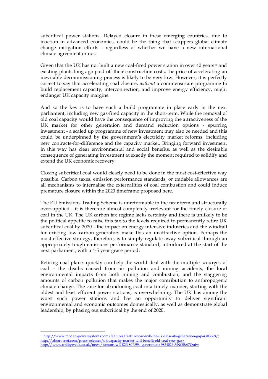 Document preview Closing unabated UK coal.pdf - page 2/3