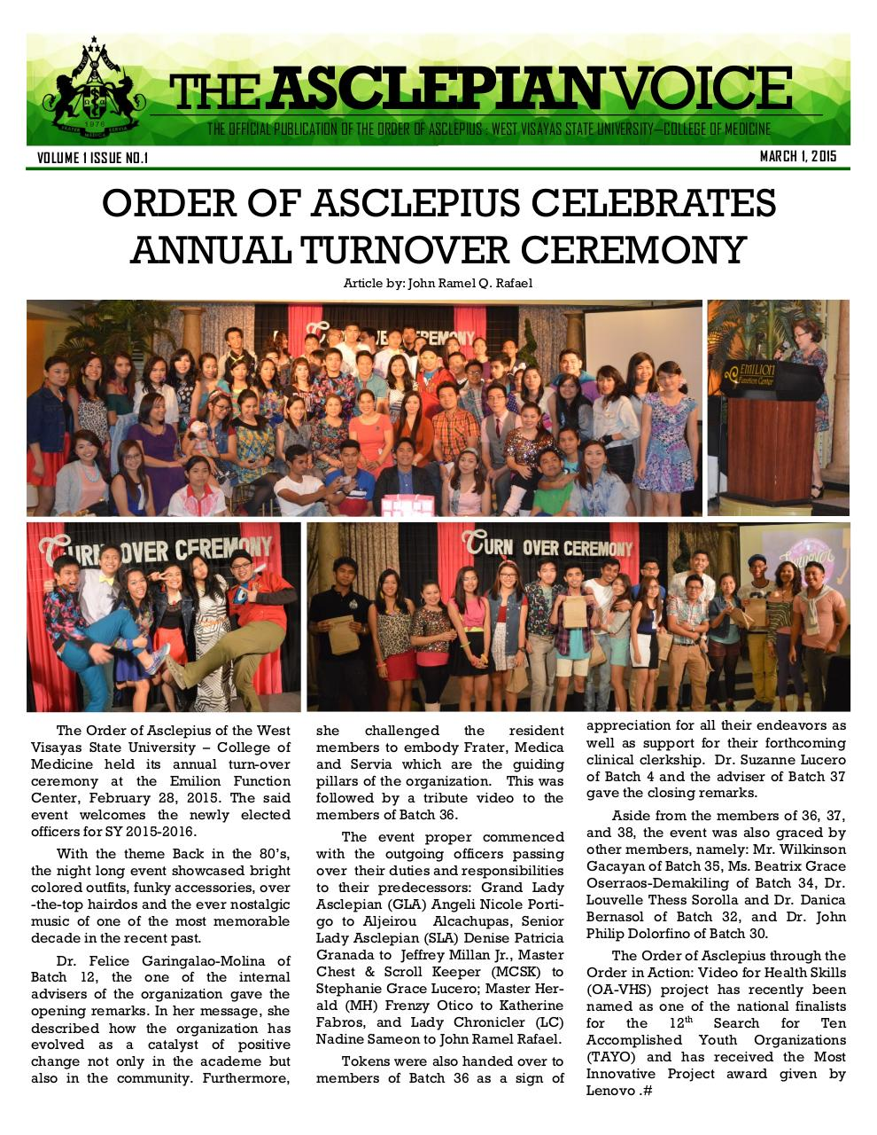 Document preview AV_01 - OA celebrates annual turnover ceremony.pdf - page 1/1