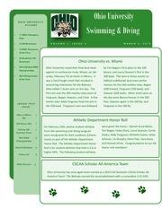 alumni newsletter volume 2 issue 3 march 2015