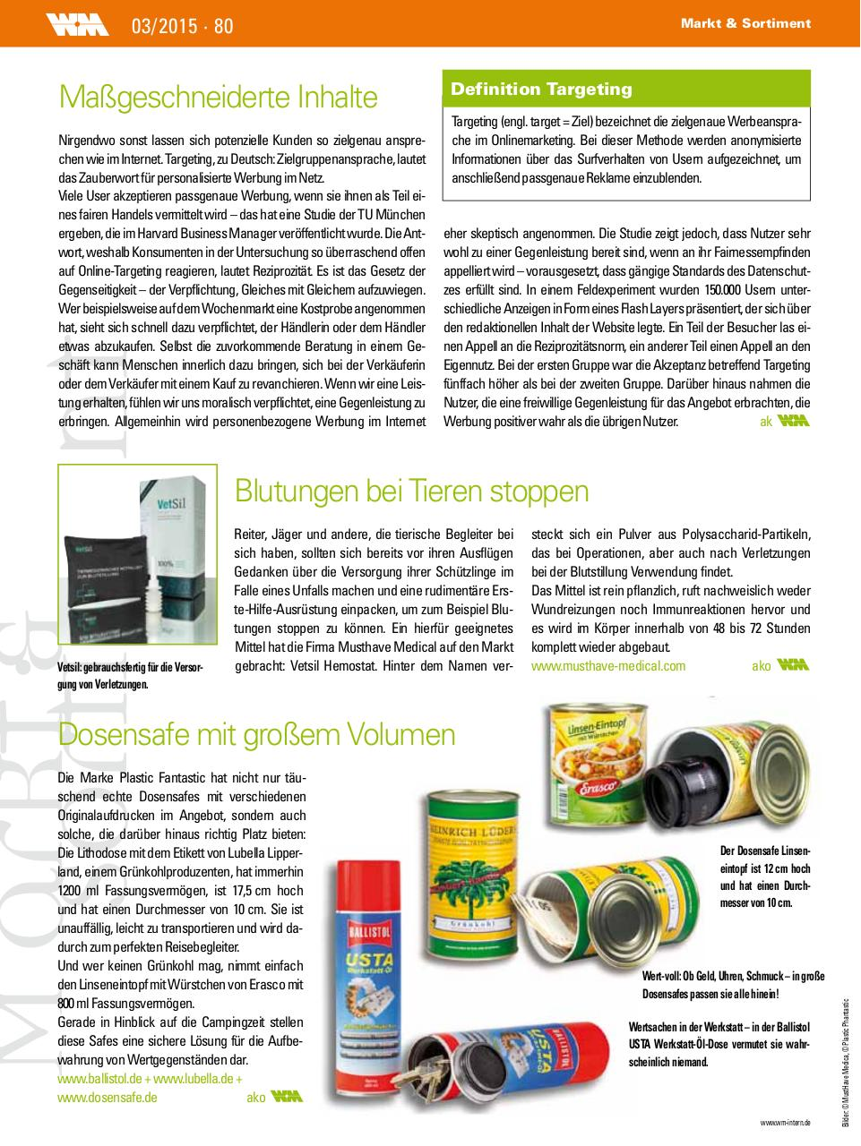 Document preview VetSil Artikel WM-Intern.pdf - page 1/1
