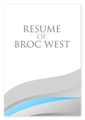 broc west resume 2015