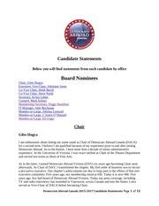 daca 2015 candidate statements