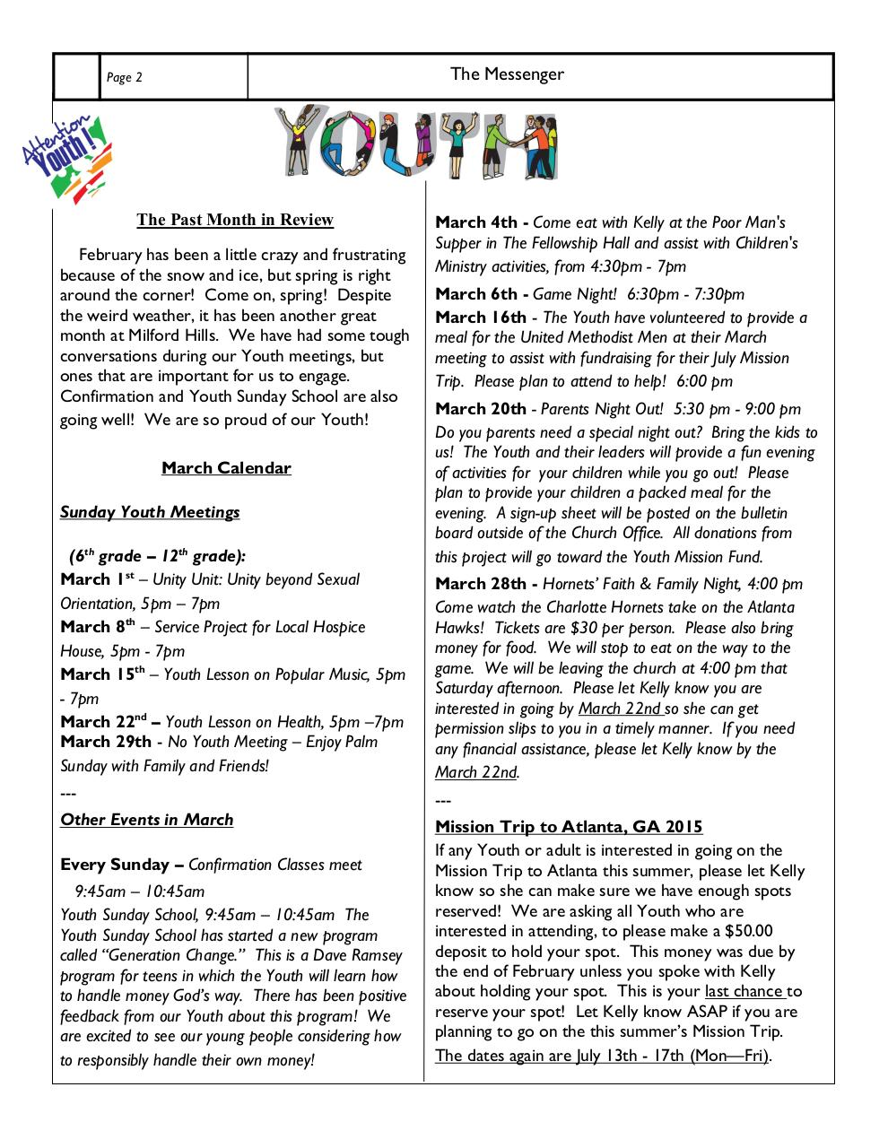 MHUMC_Newsletter_March2015.pdf - page 2/11