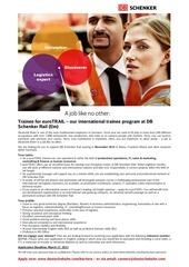 eurotrail job advertisement 2015