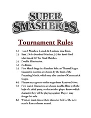 PDF Document tournament rules