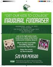 ptsa fund raising event flyer
