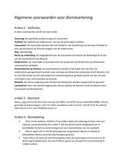 PDF Document algemene voorwaarden manus