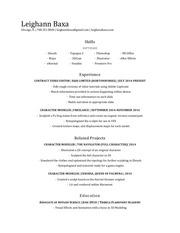 leighannbaxa resume