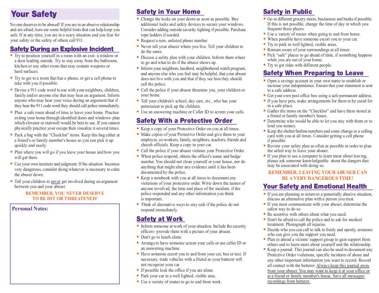 Document preview UDVC safety plan - English.pdf - page 2/2