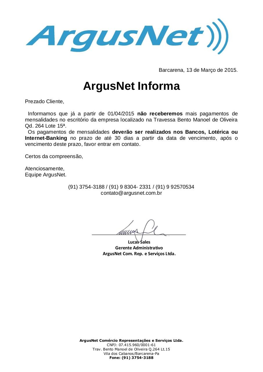 Document preview Pagamentos ArgusNet.pdf - page 1/1