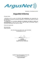 pagamentos argusnet 1