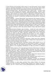 okres i wojny wiatowej notatki historia polski