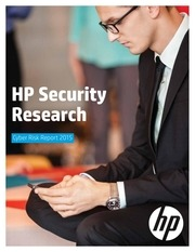 hp cyber risk report 2015