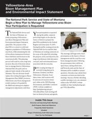 yellowstone bison plan eis public scoping newsletter1 1