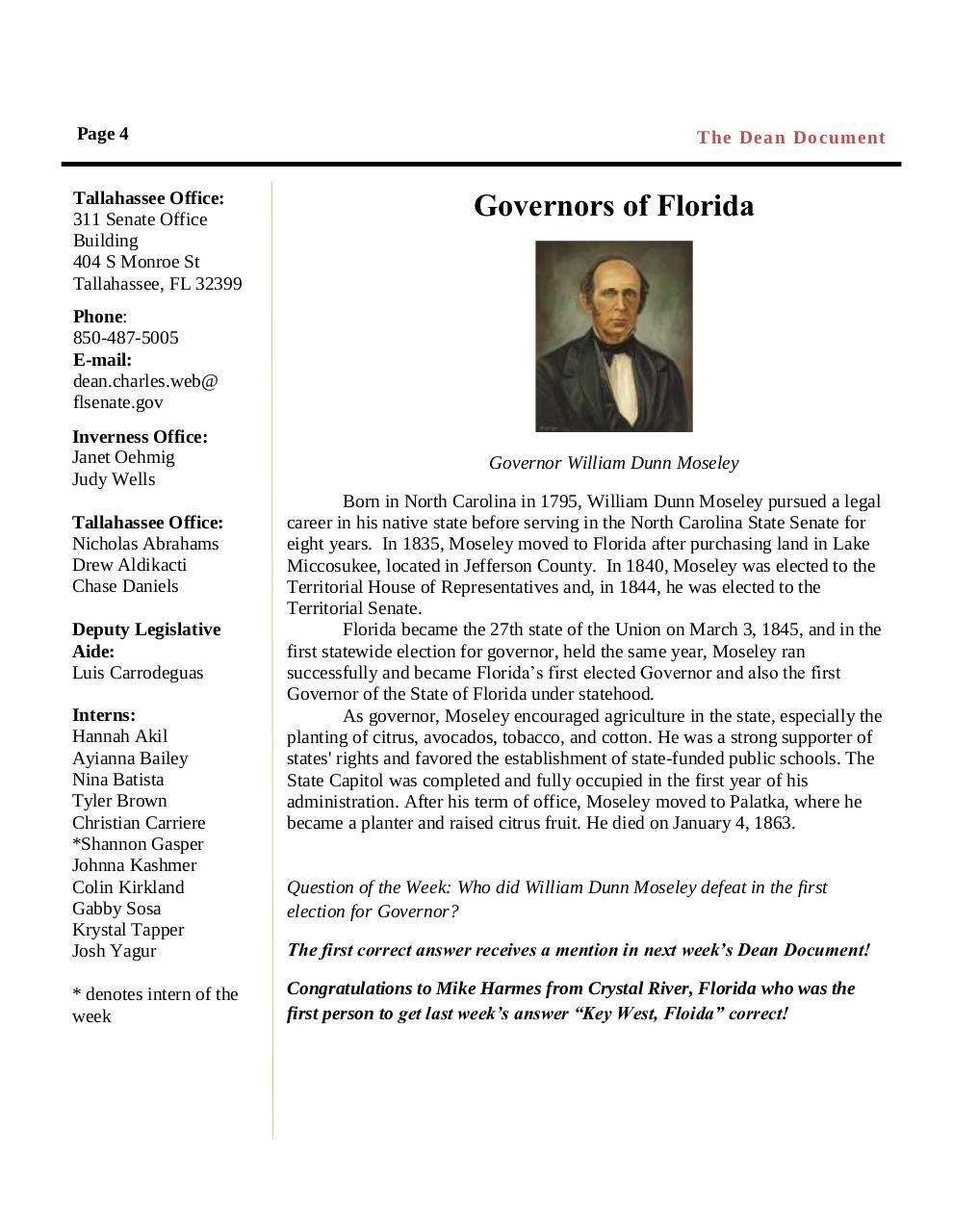 2015 Dean Document Week 3 By Danielschase Pdf Archive