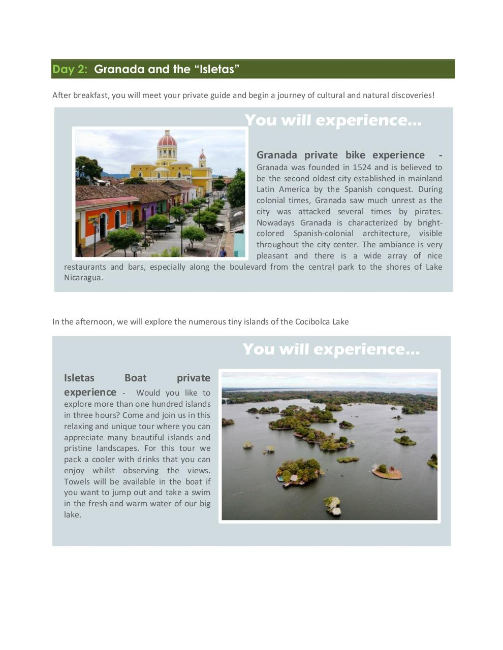 Nicaragua exotic and unspoiled - 8 days.pdf - page 3/9