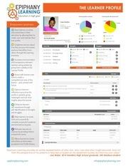 learner profile handout