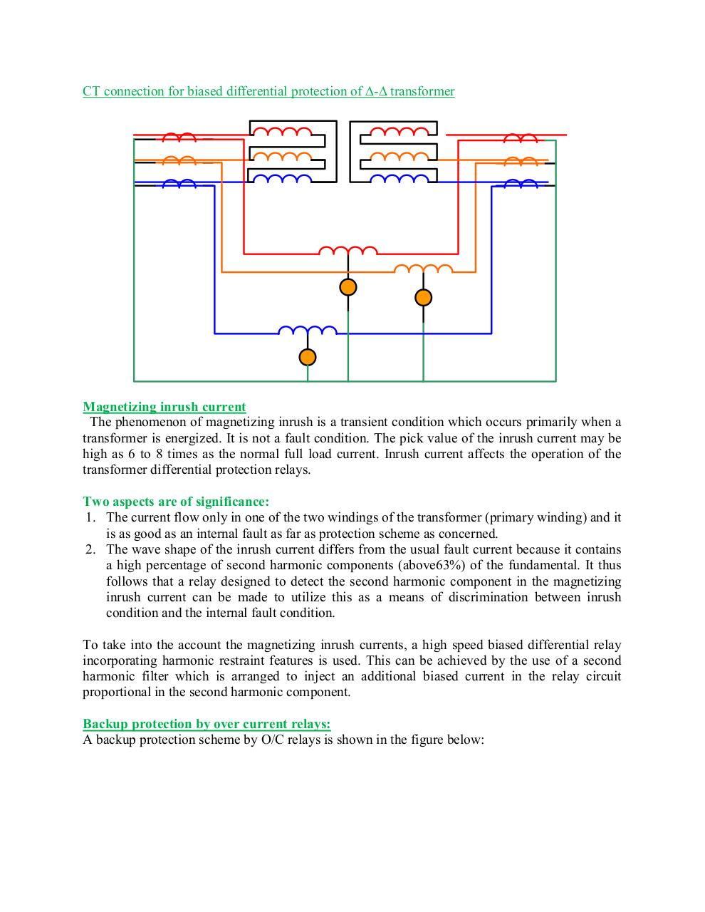 Transformer Protection by User - PDF Archive