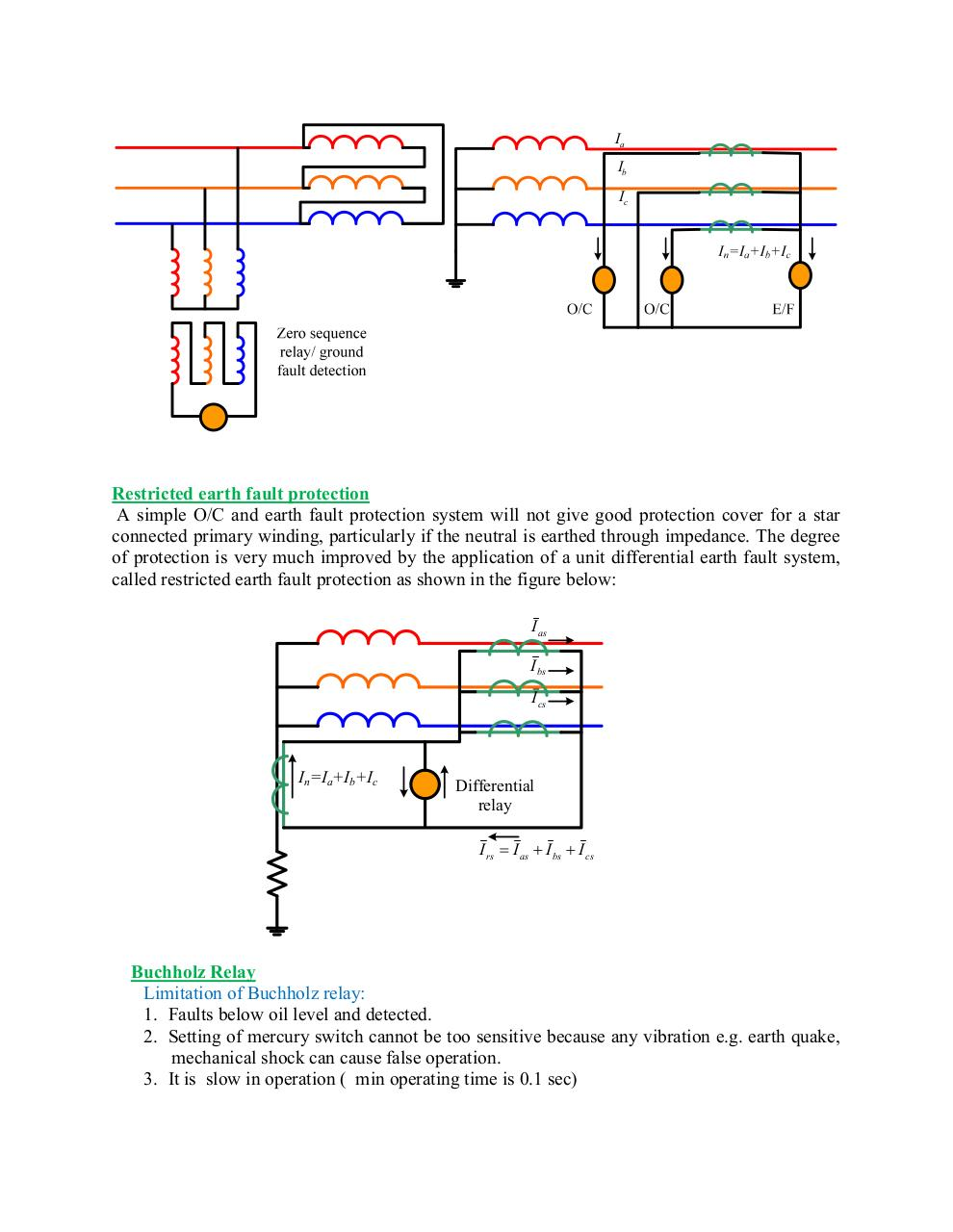 Transformer Protection By User Pdf Archive Relay Operating Time Protectionpdf Page 4 9