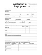 application for employment1 2