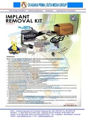 rincian implant kit brosur implant removal kit 2015