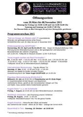 PDF Document saisonstart programm 2015 mineralien