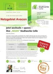 stadtwerke celle mailing strom netzgebiet avacon