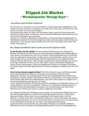 workshopreihe energy days april mai 2015