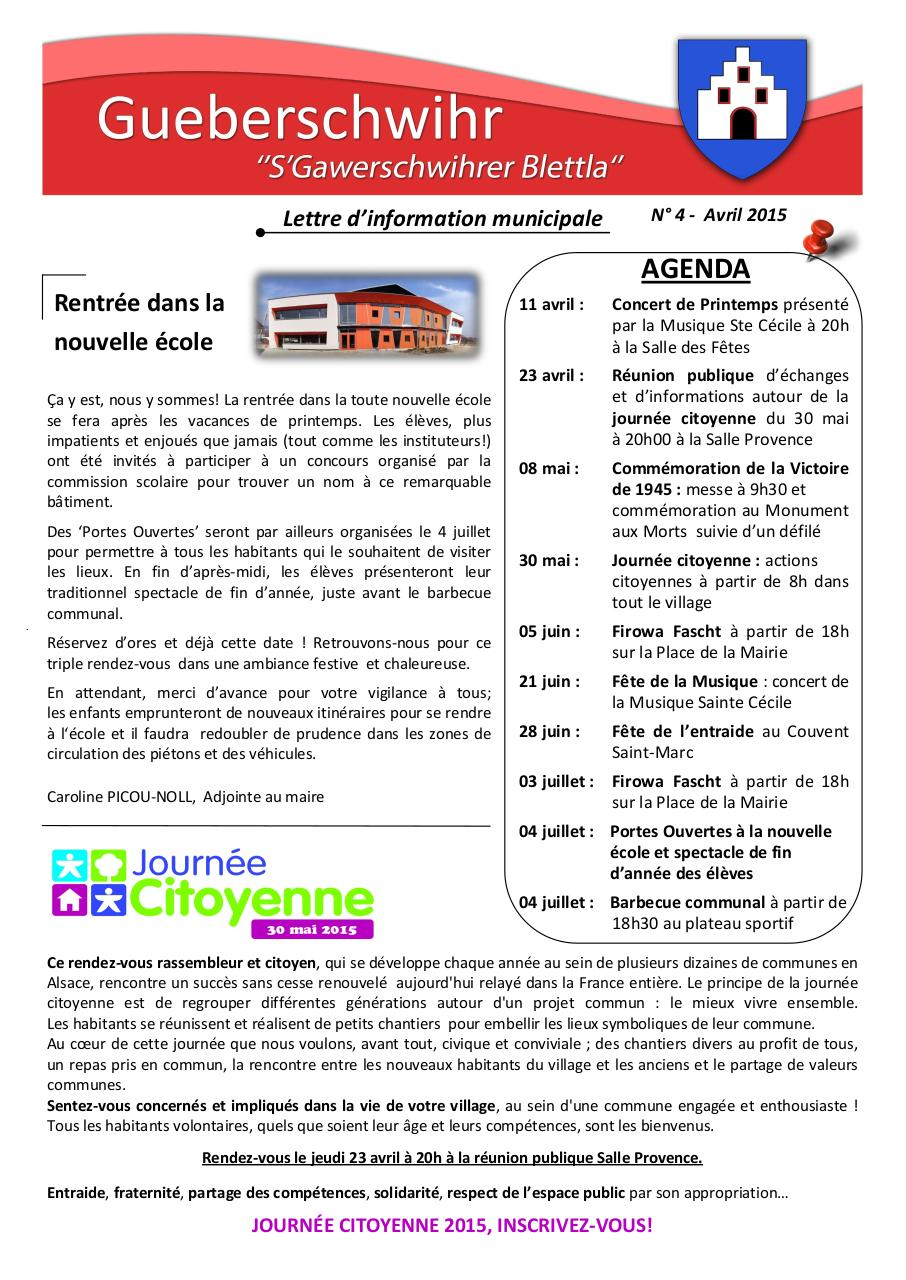 Document preview LM N°4 Avril 2015.pdf - page 1/4