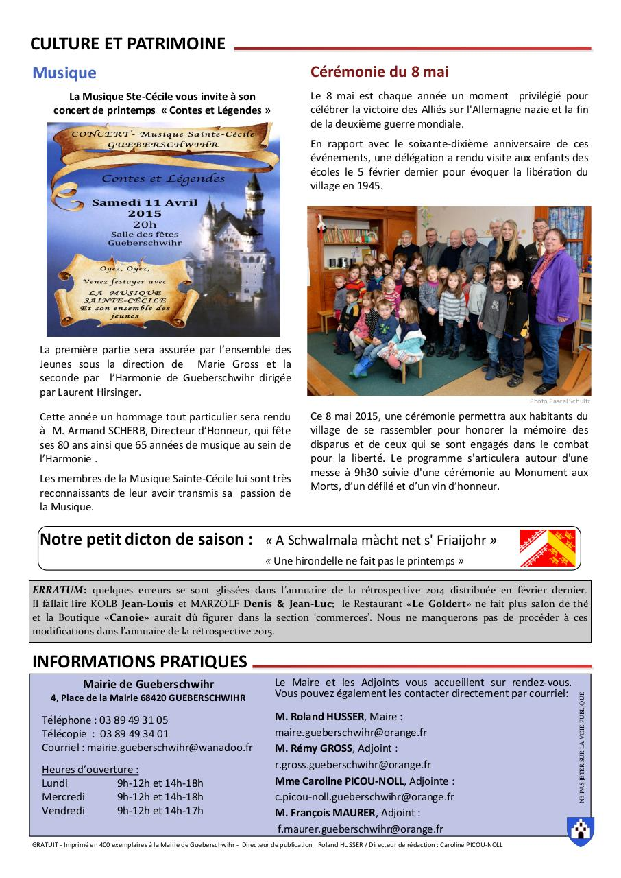 Document preview LM N°4 Avril 2015.pdf - page 4/4